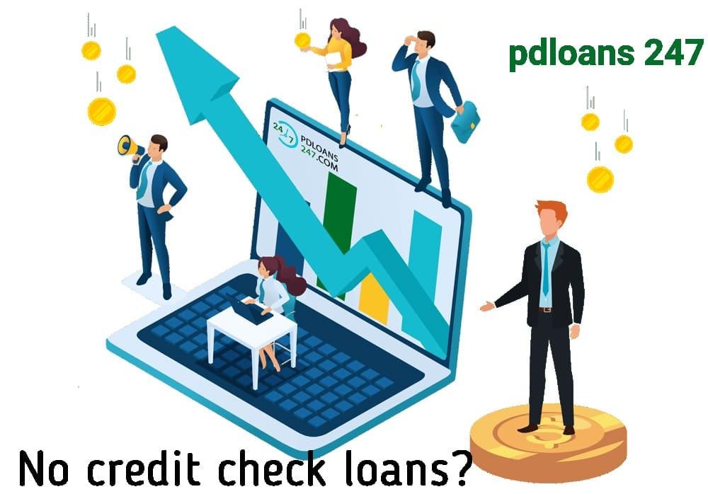 No credit check loans near me